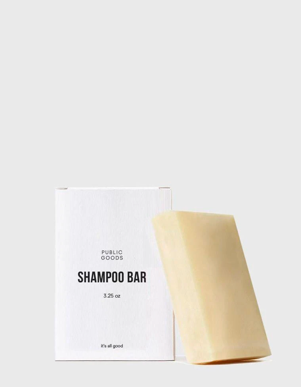 "Despite all the memes shading men who use a singular ""does-it-all"" hygiene product that somehow magically subs for every step of the getting ready process, I honestly think they might be onto something after checking out the rave reviews for this one-and-done bar shampoo from Public Goods. With an impressive star rating and sustainably sourced oils, organic scents, and no parabens, sulfates, or phthalates (which many bars have to get the suds going), this one seems like a winner—especially if you've got a camping trip or are looking for a liquid-free option to keep in your carry-on bag. And the lack of plastic packaging is an added bonus. —<em>E.P.</em> $6, Public Goods. <a href=""https://www.publicgoods.com/products/shampoo-bar"" rel=""nofollow noopener"" target=""_blank"" data-ylk=""slk:Get it now!"" class=""link rapid-noclick-resp"">Get it now!</a>"