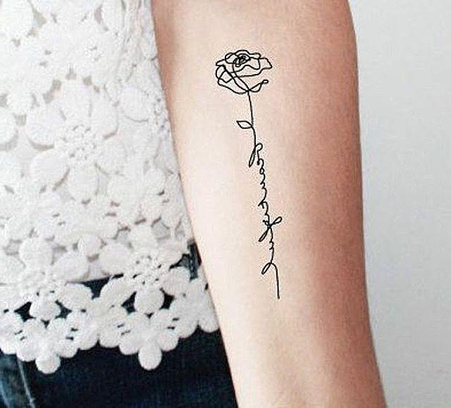 efe152c7c These Small Tattoo Ideas Are Perfect If You're Looking for Something ...