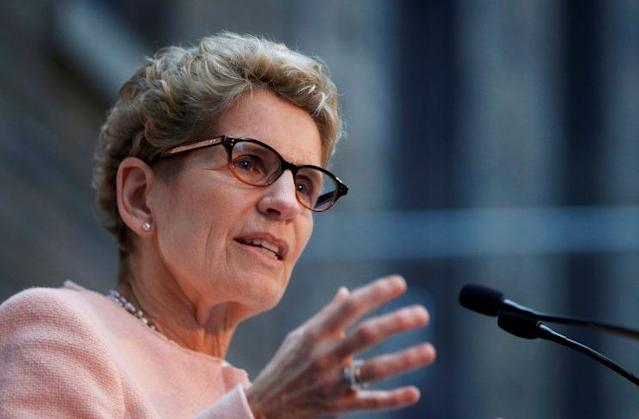 Ontario Premier Kathleen Wynne (REUTERS/Mark Blinch)