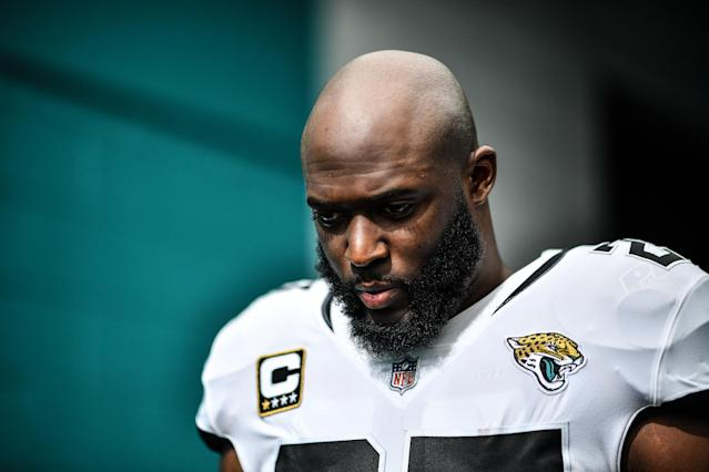 Leonard Fournette once looked like a key piece to the Jaguars operation but it's hard to consider that a reality (Getty Images).