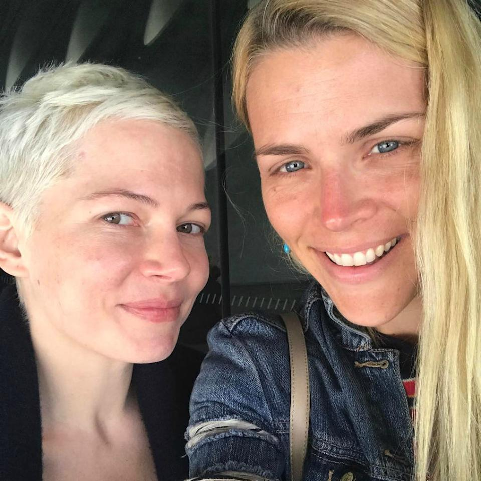 """<p>Philipps<span> shared the friend-love when she posted a selfie withher longtimeBFF (and fellow<em><a rel=""""nofollow"""" href=""""http://www.redbookmag.com/life/friends-family/a39757/dawsons-creek-where-are-they-now/"""">Dawson's Creek</a></em><span> alum),</span>bothsans makeup. """"No makeup no filters! That's how we roll!"""" the actress captioned the casual <a rel=""""nofollow"""" href=""""https://www.instagram.com/p/BS3oWigF-jl/"""">photo</a>, taken during""""a perfect day together"""" when Williams visited.</span></p>"""
