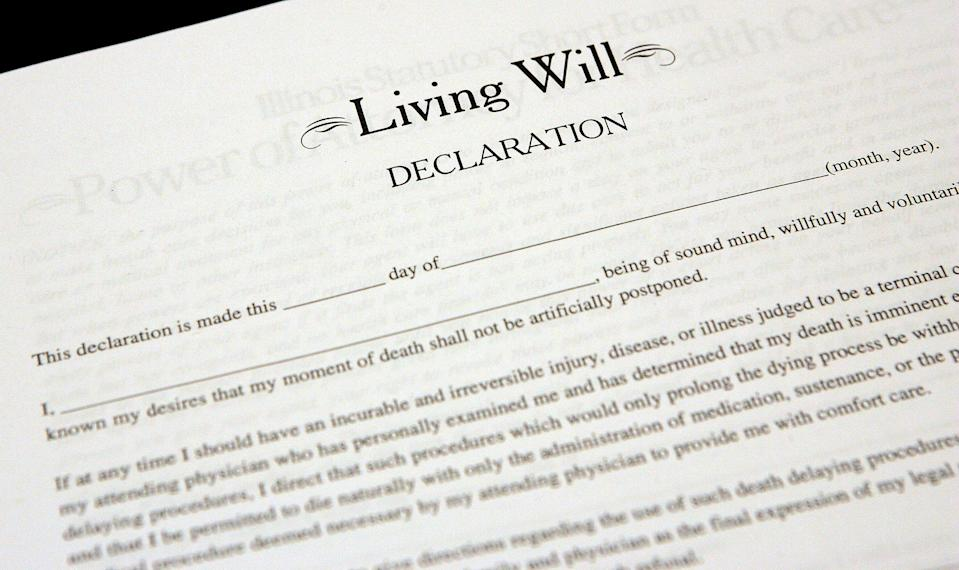 There are two main reasons to have a will. (Photo by Tim Boyle/Getty Images)