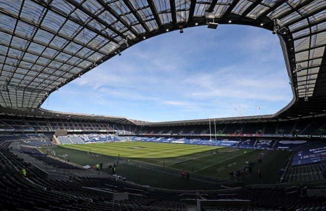 Murrayfield is to host a Lions fixture for the first time