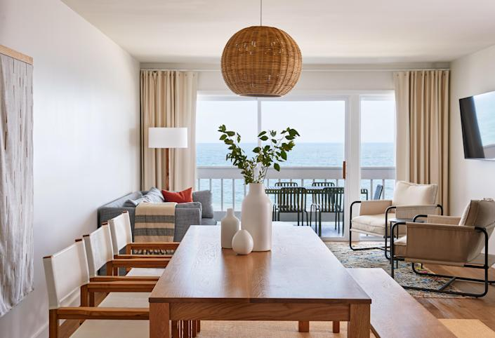 A suite at the Soundview on Long Island's North Fork.