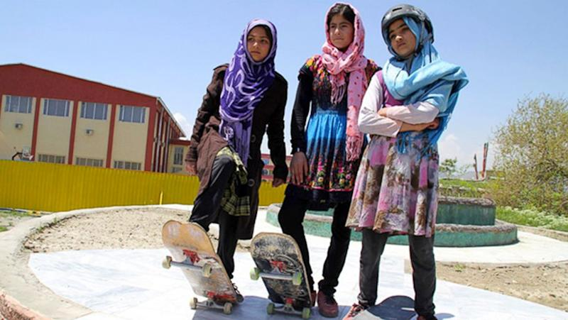 How Girls in Afghanistan Are Skateboarding Their Way to Empowerment