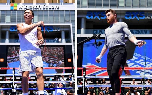 GGG and Saul 'Canelo' Alvarez only have one professional defeat between them - Getty Images