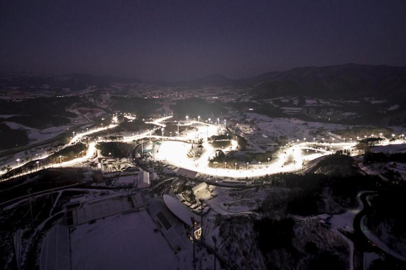 The Alpensia Cross-Country Skiing Centre and Alpensia Biathlon Centre, venues for the 2018 PyeongChang Winter Olympics (AFP/Getty Images)