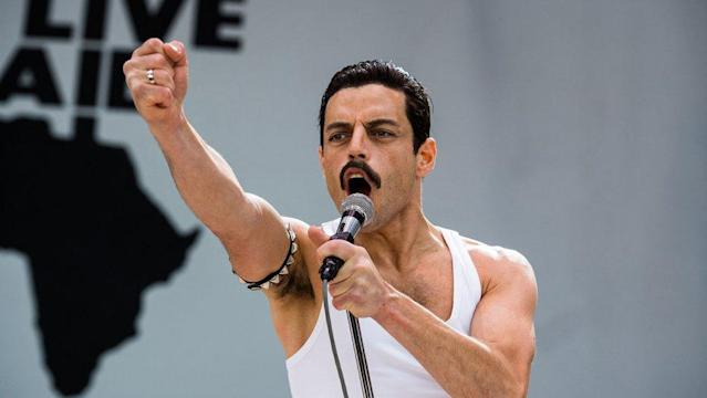 Rami Malek in Bohemian Rhapsody (Credit: Fox)