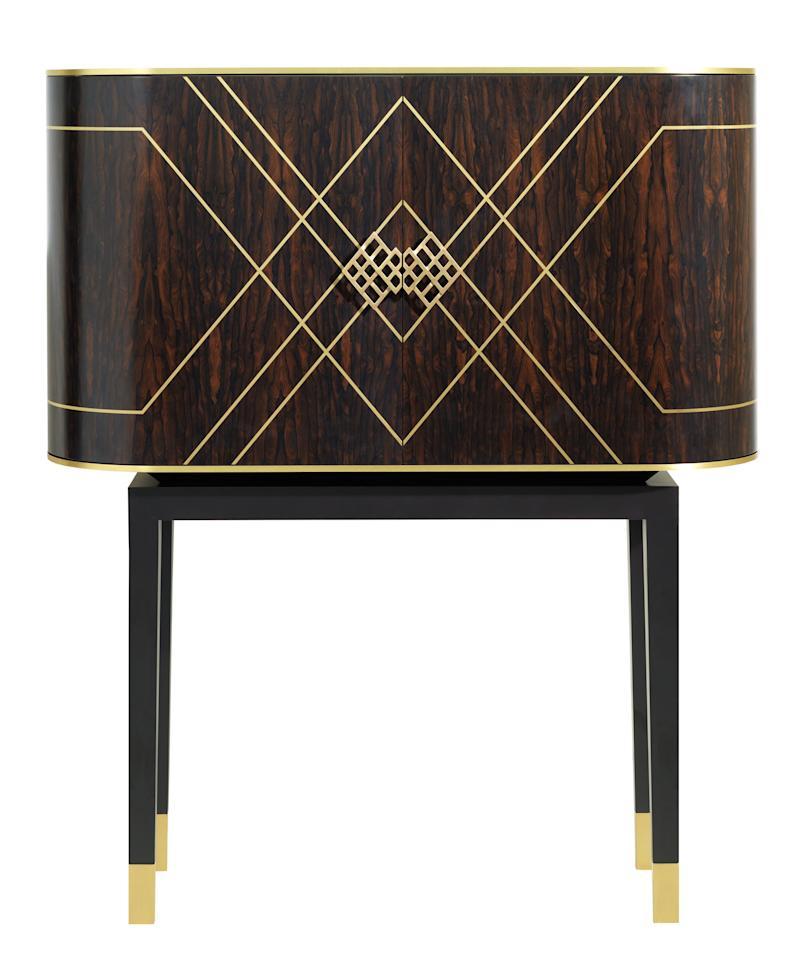 <p>The Carraway drinks cabinet.</p>