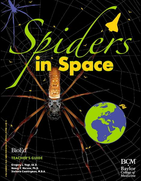 """The """"Spiders in Space"""" teacher's guide is available for free download at bioedonline.org."""