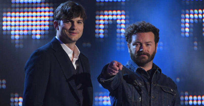 Actors Ashton Kutcher, left, and Danny Masterson have been working on Part 5 of Netflix's