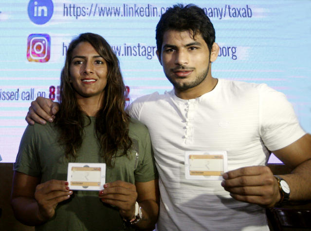If you have seen 'Dangal', you have probably heard of her. The elder of the Phogat sisters married her fellow wrestler Pawan in 2016.