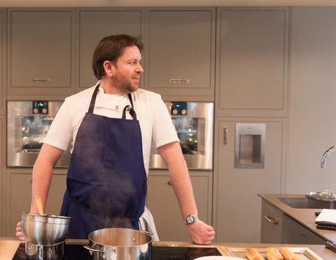 James Martin's CV includes The Waterside Inn in Bray - Credit: Lynk Photography/Adam Lynk