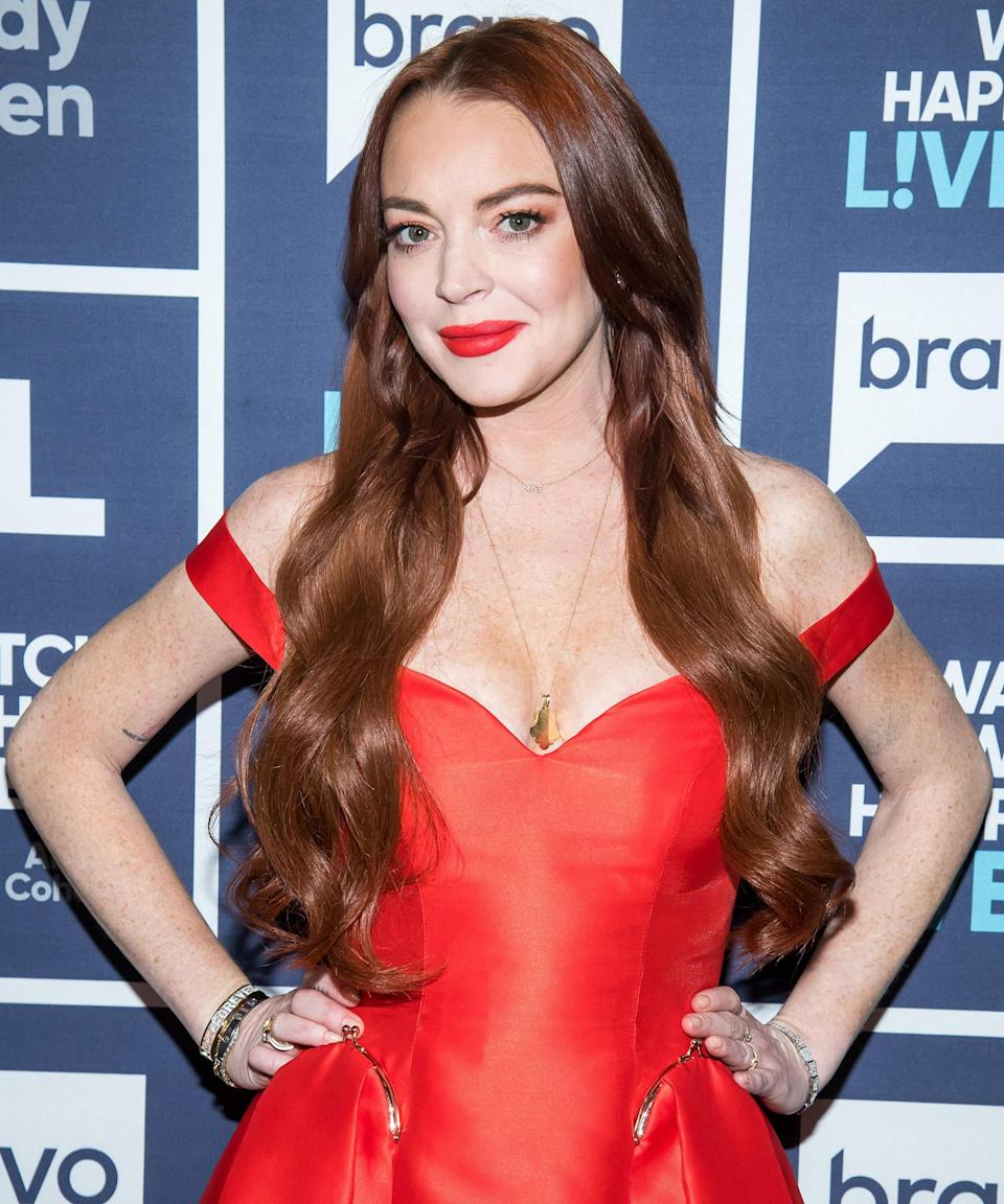 """<strong><h2>Lindsay Lohan</h2></strong>One of our favorite redheads since the <em>Parent Trap</em> days, Lohan's auburn roots have gone through quite an evolution over the years, but her cherry-wine hue is one of the best.<span class=""""copyright"""">Photo: Charles Sykes/Bravo/NBCU Photo Bank/Getty Images.</span>"""