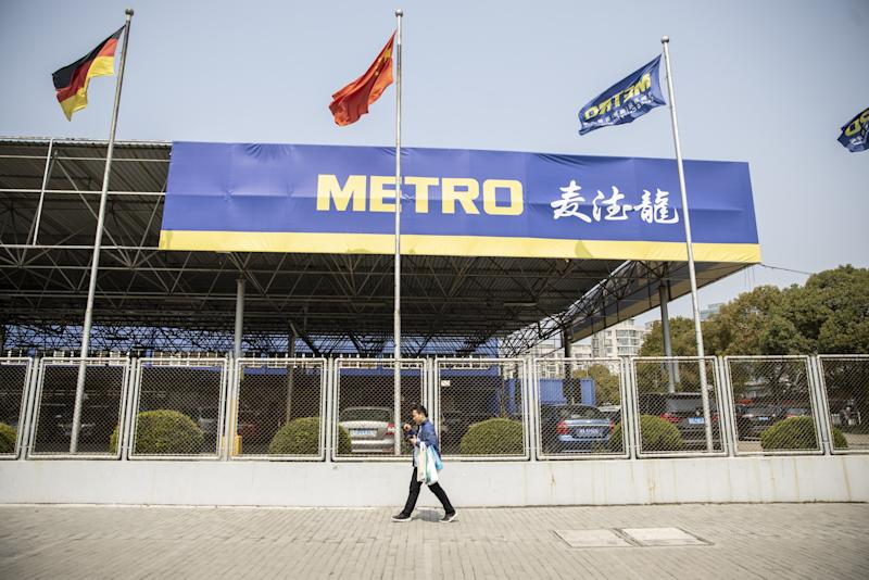 Metro's $1.5 Billion China Sale Draws Tencent, Citic PE Interest