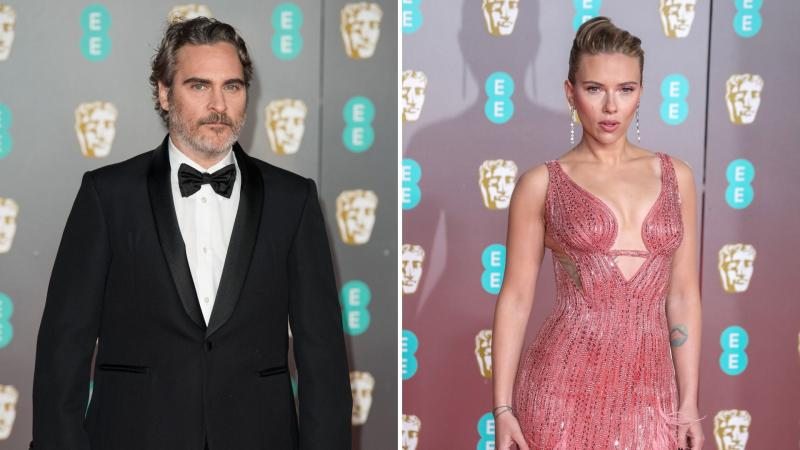 Joaquin Phoenix and Scarlett Johansson (Getty Images)
