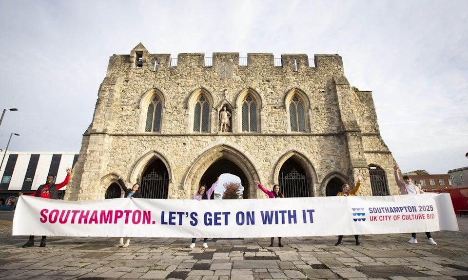 Southampton is one of the areas vying to be awarded UK City of Culture status in 2025 (Matt Alexander/PA) (PA Archive)