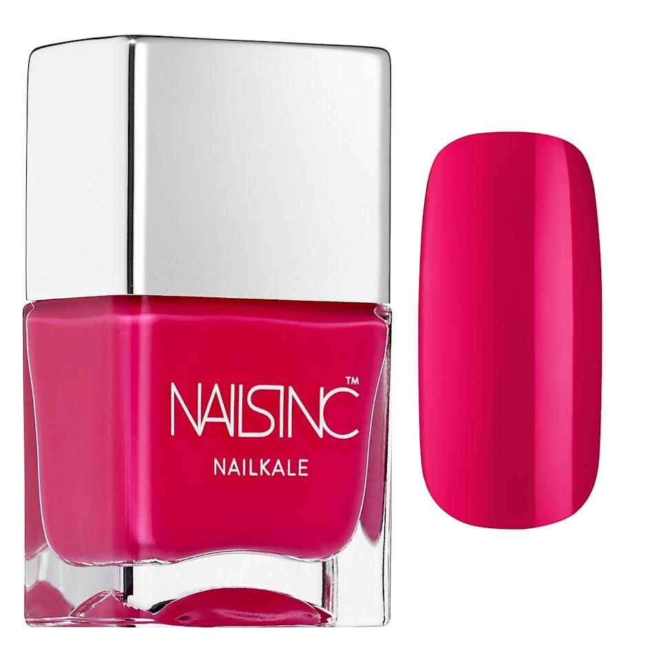 "<p>This <a href=""https://www.popsugar.com/buy/Nails-Inc-Nail-Polish-Regents-Park-556823?p_name=Nails%20Inc.%20Nail%20Polish%20in%20Regents%20Park&retailer=sephora.com&pid=556823&price=20&evar1=bella%3Aus&evar9=47308368&evar98=https%3A%2F%2Fwww.popsugar.com%2Fbeauty%2Fphoto-gallery%2F47308368%2Fimage%2F47308371%2FNails-Inc-Nail-Polish-in-Regents-Park&list1=shopping%2Csephora%2Cnail%20polish%2Cnails%2Cspring%2Cbeauty%20shopping%2Cspring%20beauty&prop13=mobile&pdata=1"" rel=""nofollow"" data-shoppable-link=""1"" target=""_blank"" class=""ga-track"" data-ga-category=""Related"" data-ga-label=""https://www.sephora.com/product/nail-polish-P388615?icid2=products%20grid:p388615"" data-ga-action=""In-Line Links"">Nails Inc. Nail Polish in Regents Park</a> ($20) will last for a long time.</p>"