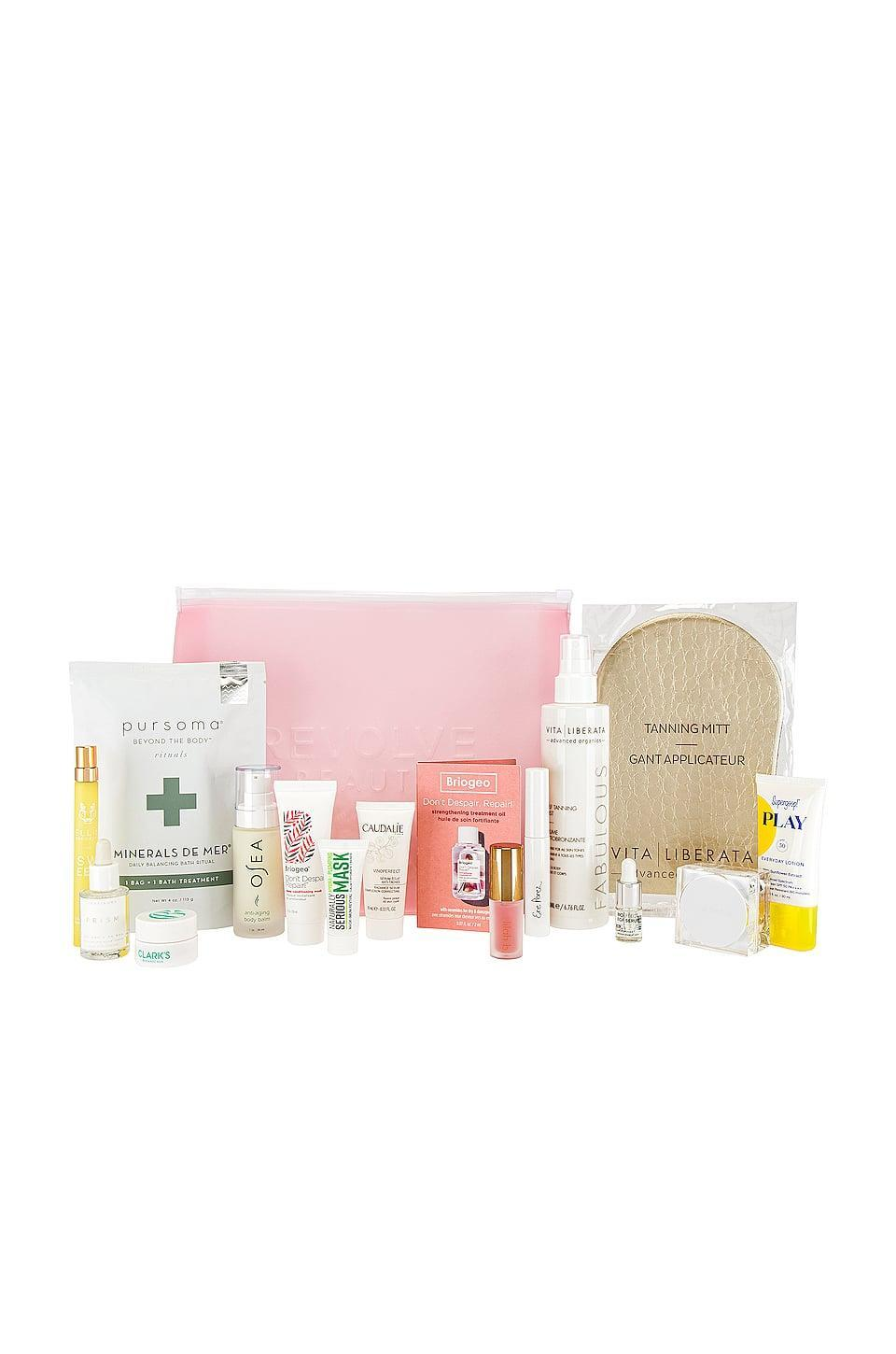 <p>If they're curious about clean beauty, this <span>Revolve Beauty Clean Beauty Bag</span> ($100) is a great place to start.</p>