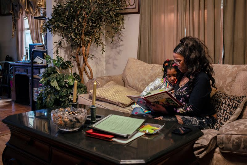 A mother and daughter cope as schools remain closed in Kentucky