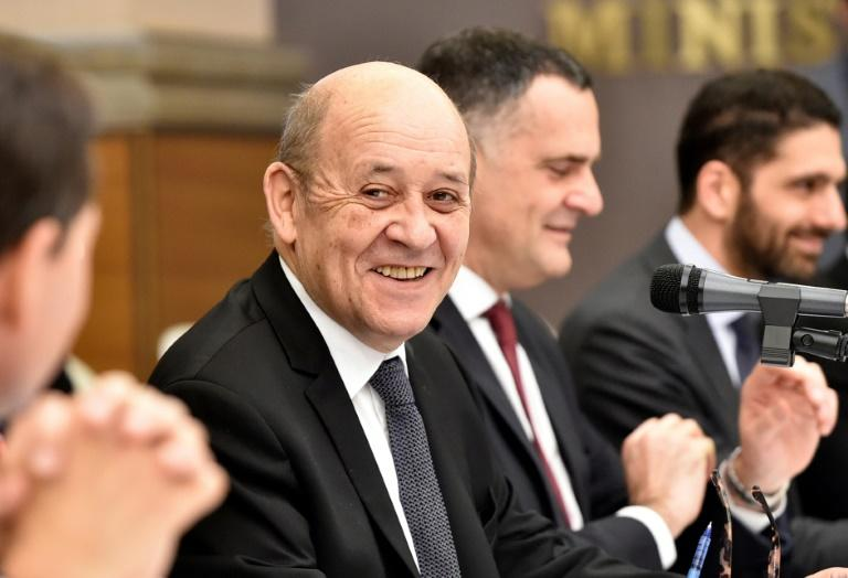 French Foreign Minister Jean-Yves Le Drian warned countries not to 'exploit' the coronavirus pandemic