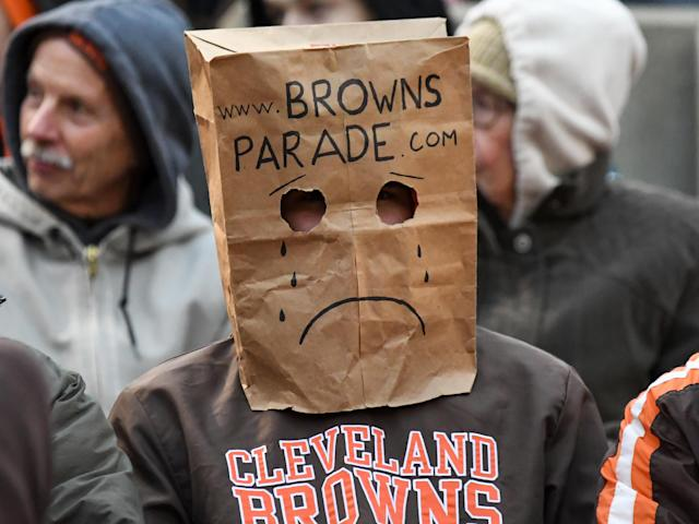 Though marijuana would likely help struggling Bengals and Browns fans out, don't expect it to become an official condition for medical use anytime soon. (Nick Cammett/Diamond Images/Getty Images)