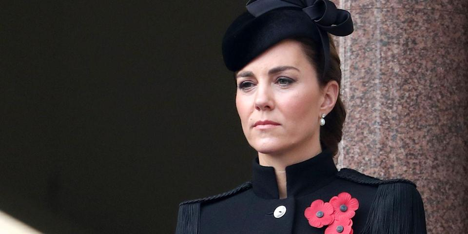 Duchess Kate Makes a Surprise Appearance at the Remembrance Day Service in London