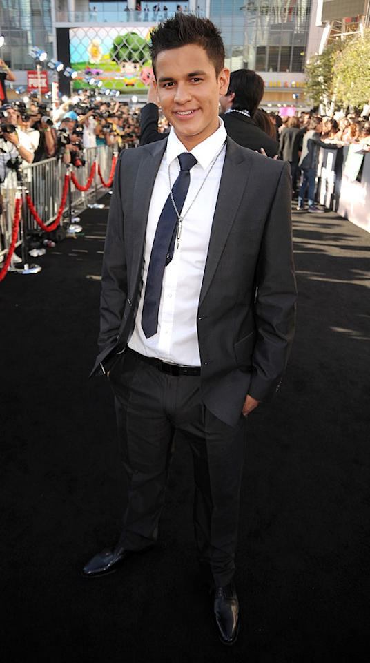 """<a href=""""http://movies.yahoo.com/movie/contributor/1809871451"""">Bronson Pelletier</a> at the Los Angeles premiere of <a href=""""http://movies.yahoo.com/movie/1810074301/info"""">The Twilight Saga: Eclipse</a> - 06/24/2010"""
