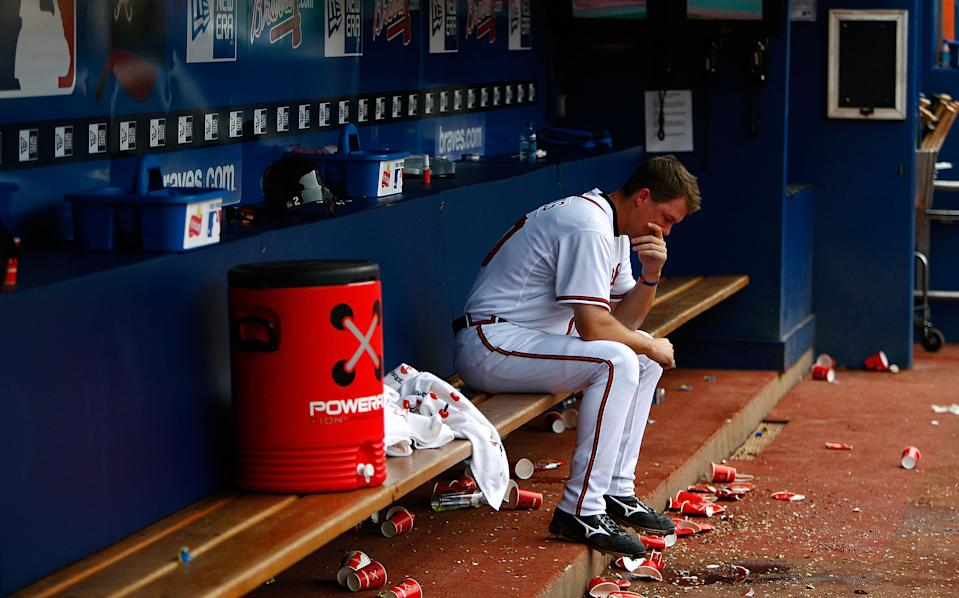 Chipper Jones suffered more of these losses than any player should. (Kevin C. Cox/Getty Images)