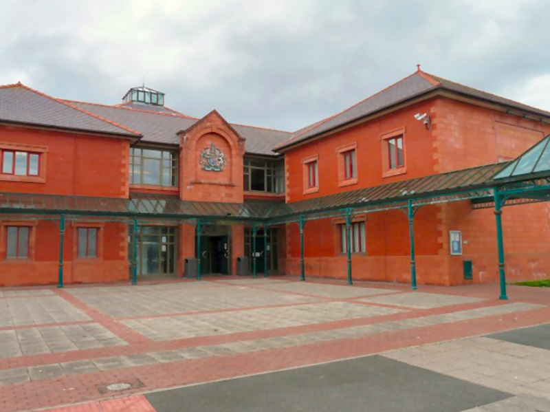 Waterhouse appeared at Llandudno Magistrates Court over the tent terror (Geograph)
