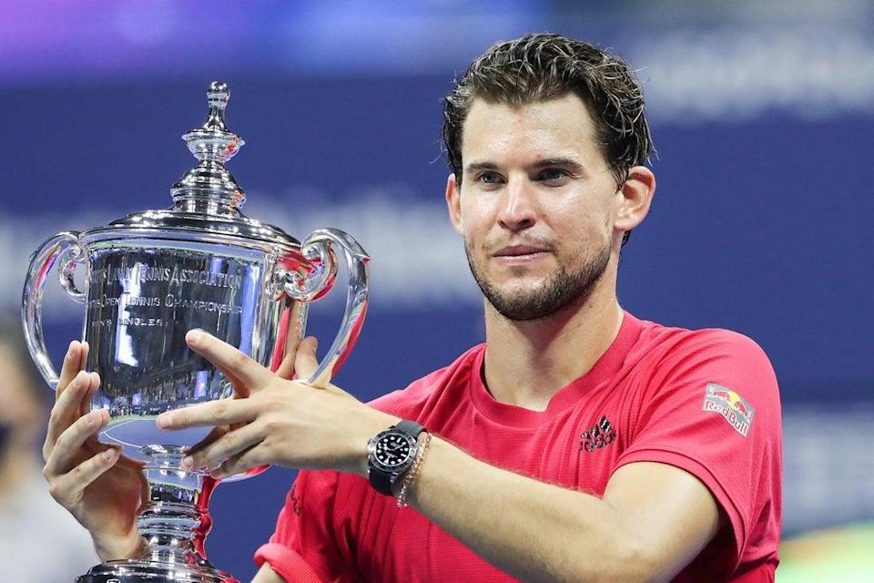 Dominic Thiem won his first Grand Slam title at the US Open in 2020  (Getty Images)