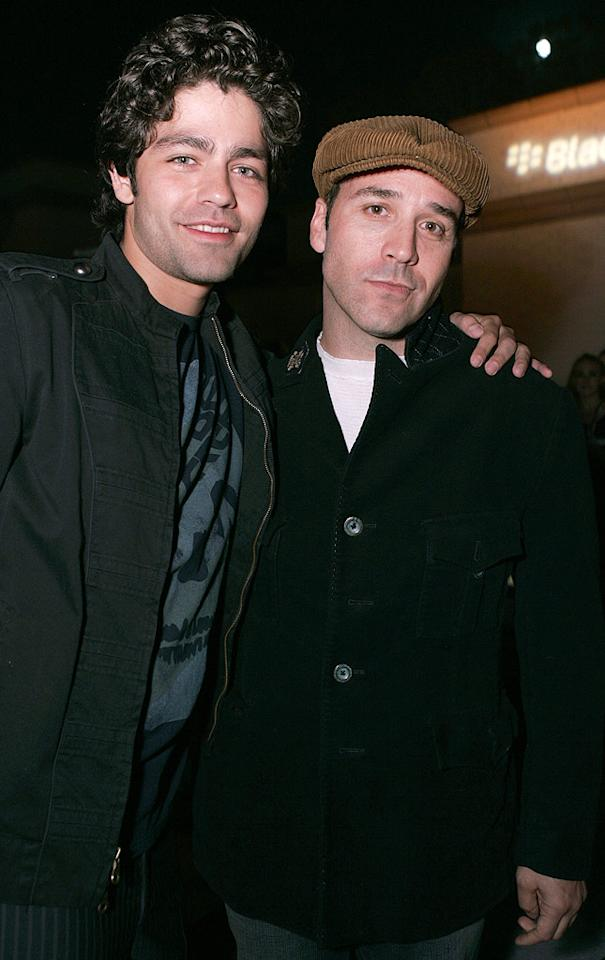 "Adrian Grenier and Jeremy Piven. Chris Weeks/<a href=""http://www.wireimage.com"" target=""new"">WireImage.com</a> - May 31, 2007"