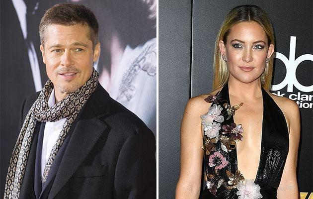 Kate has apparently been overheard confirming her romance with Brad. Source: Getty