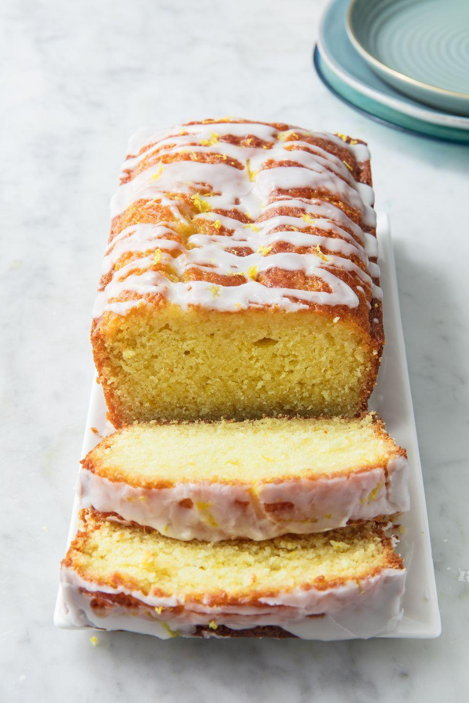"""<p>Even better than Starbucks.</p><p>Get the recipe from <a href=""""https://www.delish.com/cooking/recipe-ideas/a19880302/iced-lemon-pound-cake-recipe/"""" rel=""""nofollow noopener"""" target=""""_blank"""" data-ylk=""""slk:Delish"""" class=""""link rapid-noclick-resp"""">Delish</a>. </p>"""