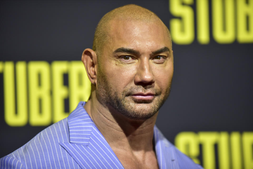 Dave Bautista is backing Joe Biden. (Photo: Rodin Eckenroth/Getty Images)