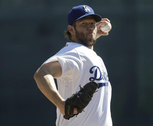 Clayton Kershaw is hoping to take the Dodgers to the World Series. (AP)