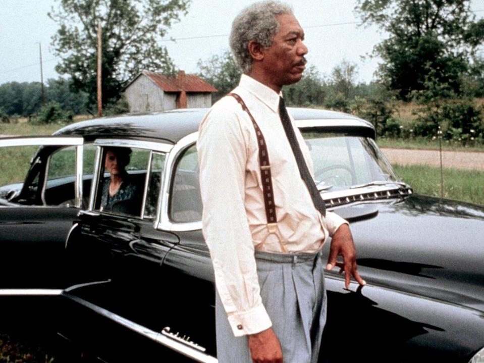Jessica Tandy and Morgan Freeman in 'Driving Miss Daisy'Warner Bros/The Zanuck Company/Kobal/Shutterstock