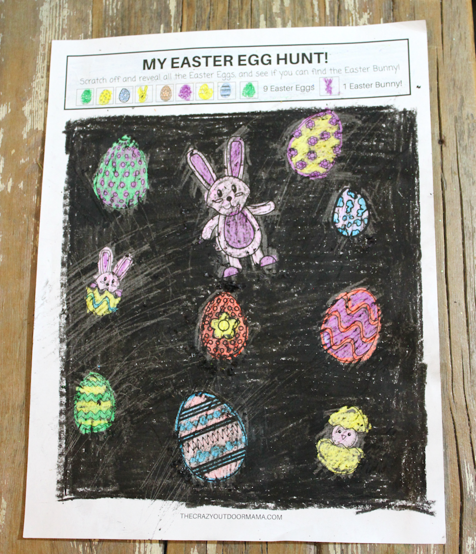 "<p>Challenge your little ones to uncover all the eggs and bunnies on this adorable coloring game. </p><p><strong>Get the tutorial at <a href=""https://www.thecrazyoutdoormama.com/diy-scratch-and-reveal-easter-egg-game-the-kids-will-love/"" rel=""nofollow noopener"" target=""_blank"" data-ylk=""slk:The Crazy Outdoor Mama"" class=""link rapid-noclick-resp"">The Crazy Outdoor Mama</a>. </strong></p><p><strong><a class=""link rapid-noclick-resp"" href=""https://www.amazon.com/Crayola-52-3024-Crayons-24-Colors/dp/B0765ML9Y1/?tag=syn-yahoo-20&ascsubtag=%5Bartid%7C10050.g.3100%5Bsrc%7Cyahoo-us"" rel=""nofollow noopener"" target=""_blank"" data-ylk=""slk:SHOP CRAYONS"">SHOP CRAYONS</a><br></strong></p>"