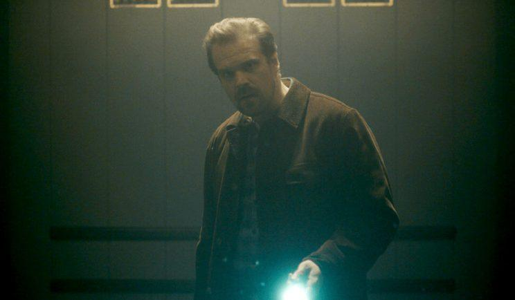 David Harbour in Stranger Things - Credit: Netflix