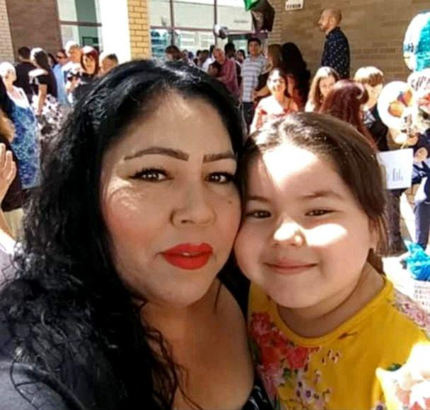 PHOTO: Mayra Millan, who died of COVID-19 in December, is pictured with her youngest daughter, Melanie. (Vanessa Perez)