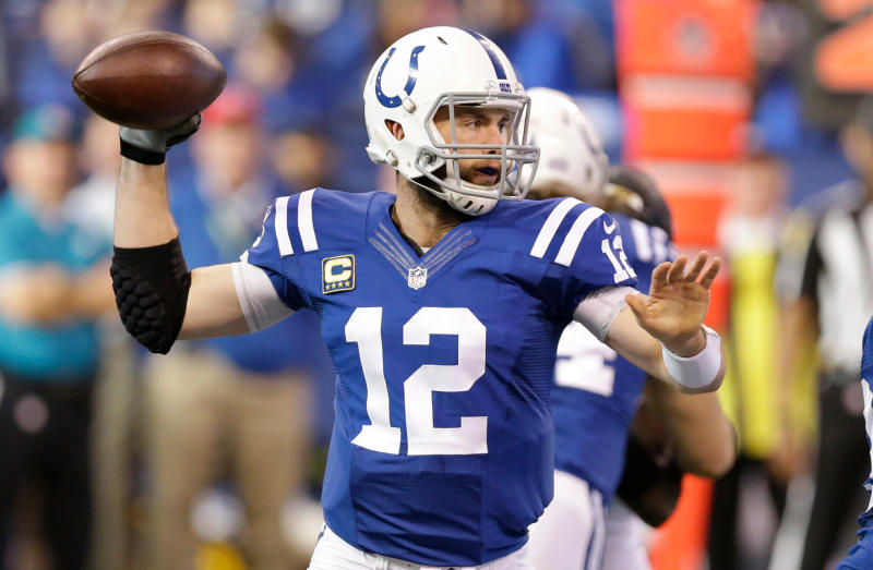 Indianapolis Colts quarterback Andrew Luck lost his wallet, but a man who found it on a bike ride returned it. (AP)