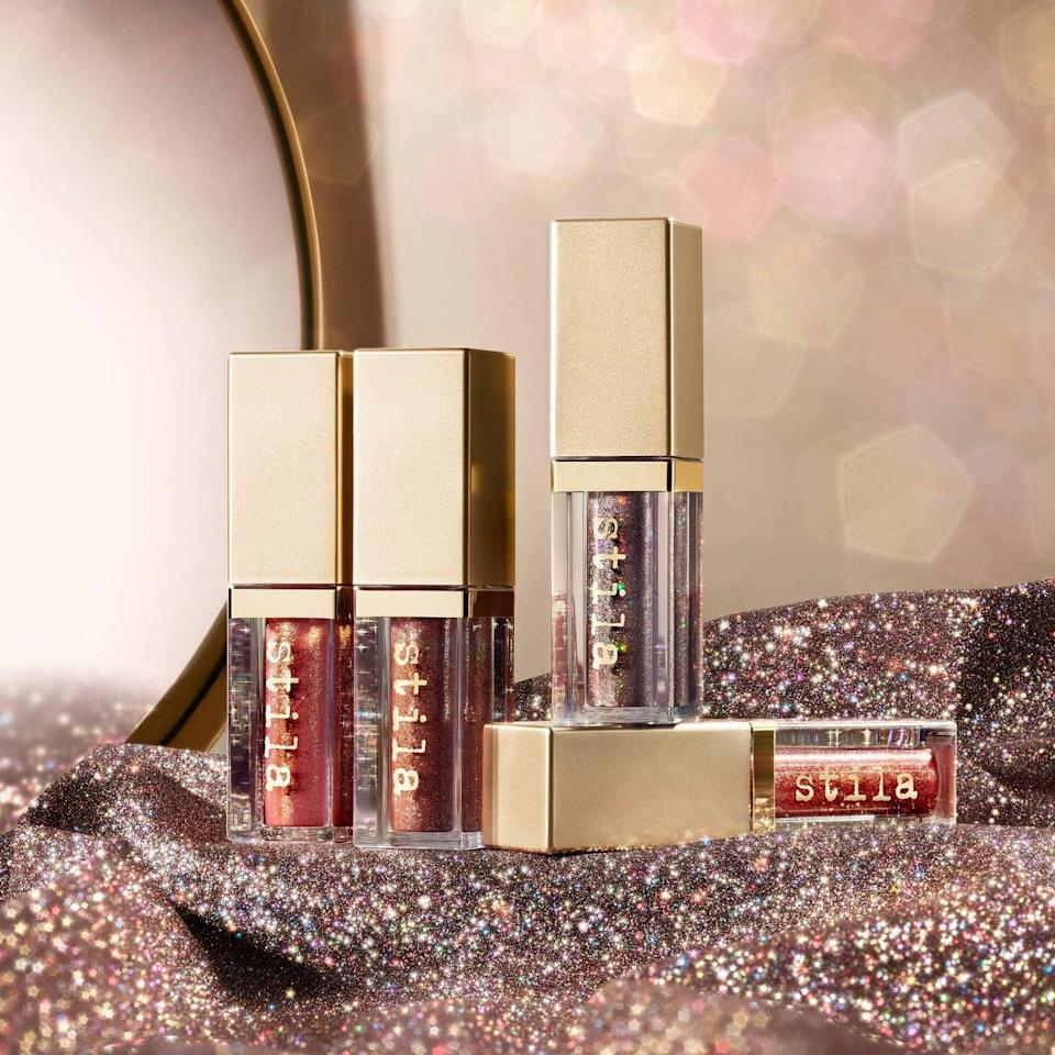 <p>These <span>Stila Glitter and Glow Liquid Eyeshadow</span> ($24) truly make a statement. With one swipe they'll have a bold, sparkly eyeshadow look.</p>