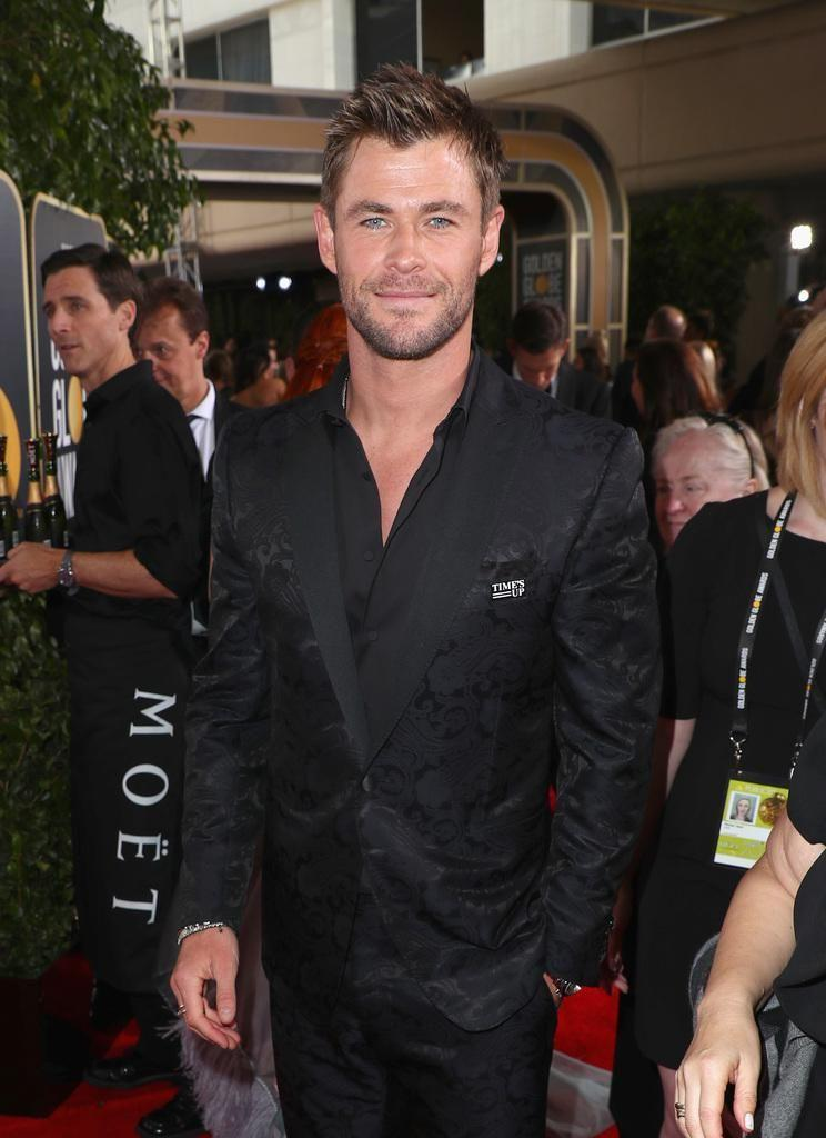 Actor Chris Hemsworth celebrates The 75th Annual Golden Globe Awards with Moet & Chandon at The Beverly Hilton Hotel. Source: Getty