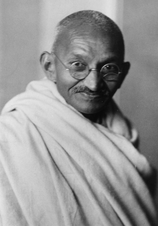 'Generations to come will scarce believe that such a one as this ever in flesh and blood walked upon this earth,' said Albert Einstein about Mohandas Karamchand Gandhi. Indeed, India's greatest son would be the Mahatma, whose ideology of non-violence won India freedom from the British.