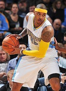 Carmelo Anthony could be playing his final games in a Nuggets uniform