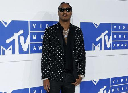 Rapper Future arrives at the 2016 MTV Video Music Awards in New York