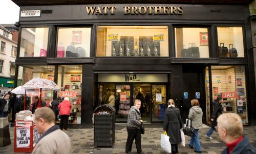 Scottish department store Watt Brothers goes into administration