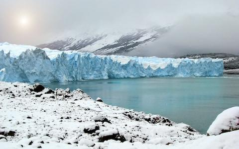 The Perito Moreno glacier in the Santa Cruz province of Argentina - Credit: Getty Images