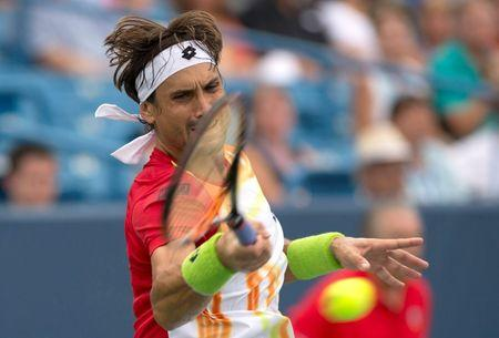 Tennis: Western and Southern Open-Ferrer vs Benneteau