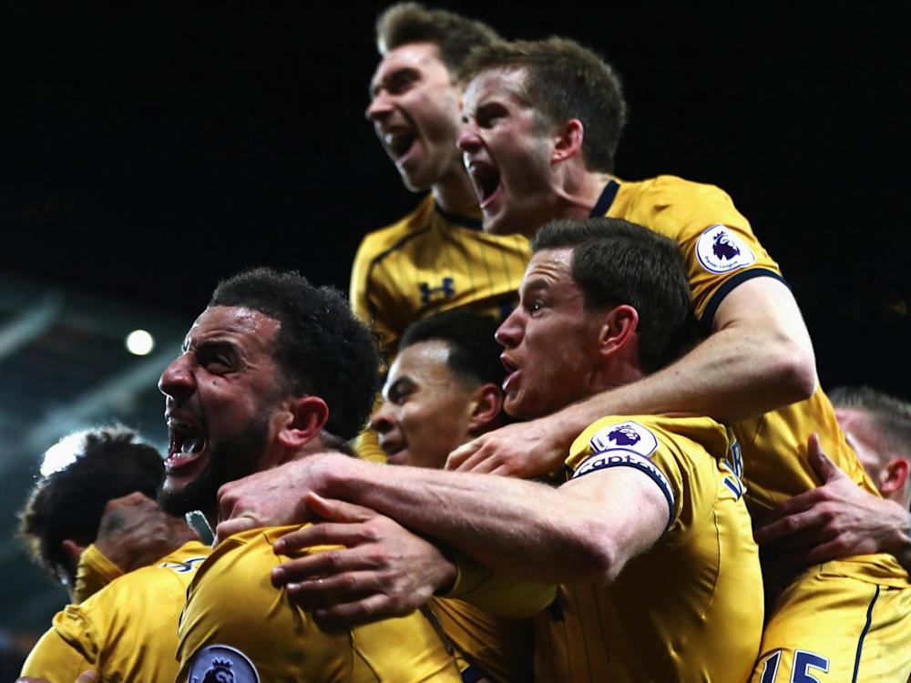 Tottenham have won their last five Premier League matches (Getty)